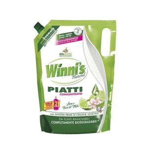Winni's Detergent za Ročno Pomivanje Posode Eko Polnilo Limeta