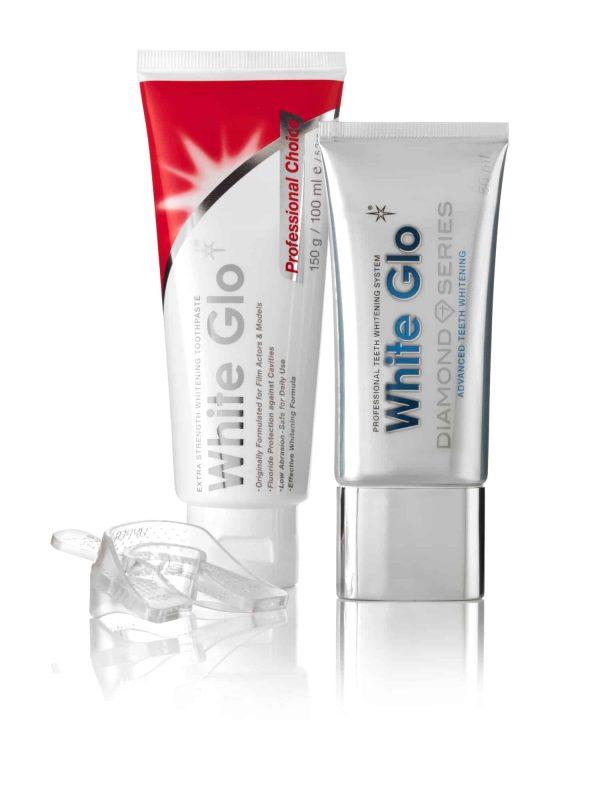 White Glo Diamond Series Belilni Gel