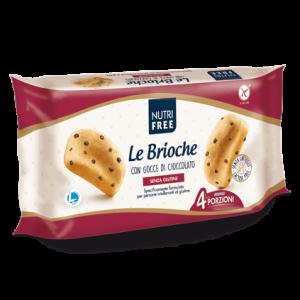 Nutrifree Le Brioche s čokoladnimi koščki brez glutena