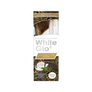 White Glo Zobna Pasta z Kokosovim Oljem