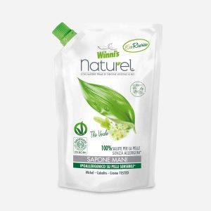 Winni's Tekoče Milo za Roke Zeleni Čaj Eco-polnilo 500ml